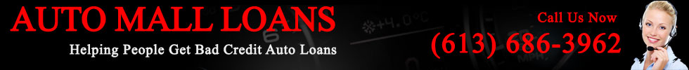 Bad Credit No Credit Auto Loans in Ottaws